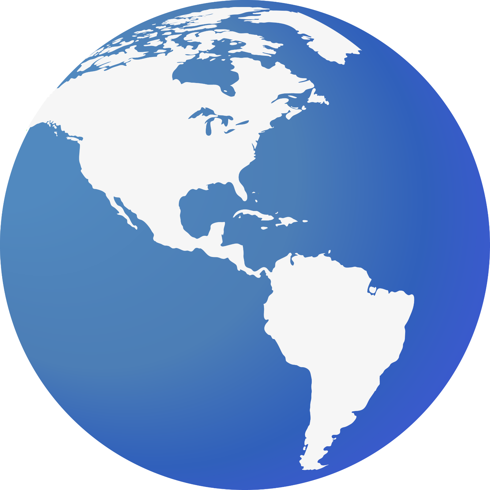 Blue And White Globe Logo | www.galleryhip.com - The ...